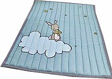 VClife Baumwolle Teppich Kinderzimmer Spielteppich