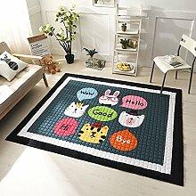 VClife Spielteppich Teppich Schlafzimmer