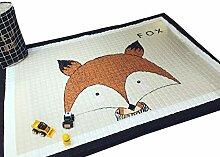VClife® Teppich 100% Baumwolle Kinderteppich