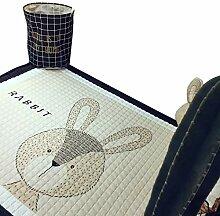 VClife Teppich Baumwolle Polyester Kinderteppich