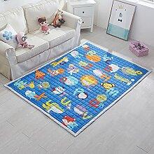 VClife® Teppich Kinderteppich Krabbeldecke Geschenk für Kinder Baby Süße Maus Zimmer Dekoartikel Yoga Matte Picknick Wiese Strand 150 x 200cm Tiere