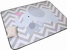 VClife Teppich Polyester Kinderteppich Baby