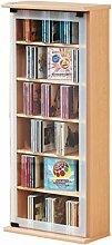 VCM 21023 Regal DVD CD Rack Medienregal