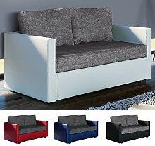 VCM 2er Schlafsofa Sofabett Couch Sofa mit