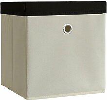 VCM 2er Set Faltbox Klappbox Sammelbox Stoffbox