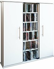 VCM 45024 Regal DVD CD Rack Medienregal