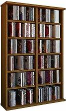 VCM 50442 Regal Schrank DVD CD Rack Medienregal
