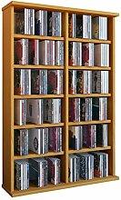 VCM 50443 Regal Schrank DVD CD Rack Medienregal