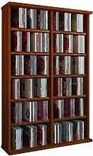 VCM 50444 Regal Schrank DVD CD Rack Medienregal