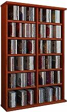 VCM 50447 Regal Schrank DVD CD Rack Medienregal