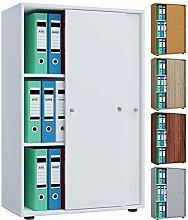 VCM Aktenregal Schrank Büromöbel Aktenschrank