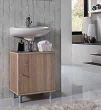 VCM Bad Unterschrank Waschtisch Waschbecken