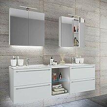 VCM Doppel - Waschplatz Waschtisch Waschbecken