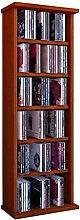 VCM Regal DVD CD Rack Medienregal Medienschrank