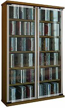 VCM Regal DVD CD Rack Medienregal Medienschrank