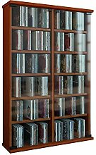 VCM Regal DVD CD Rack Turm Medienregal