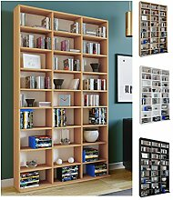 VCM Regal Standregal Medienregal Bücherregal CD