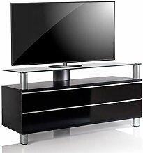 VCM TV Lowboard Fernseh Rack Tisch Schrank Bank