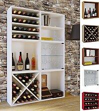 VCM Wein-Regalserie Regal Weinregal Weinschrank