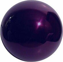 VCS prp10Spiegel Ball 25,4cm violett Edelstahl Gazing Globe