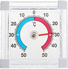 VDK Temperatur-Thermometer für Fenster Innen- und