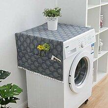VEADK Staubschutz Marmor Muster Kühlschrank Tuch