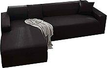 VEAI Sofabezug Sofahusse L Form Sofaüberwurf