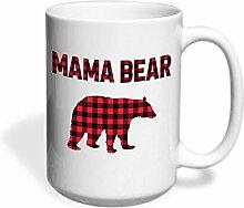 Vebldfg4 Mama Bär Kaffee-Haferl,