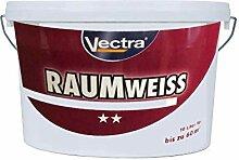 Vectra RaumWeiss 10L Wandfarbe Innenfarbe