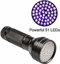 Veetop UV Taschenlampe, Schwarzlichtlampe mit 51