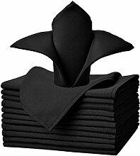 VEEYOO Polyester-Stoffservietten 12-teiliges Set