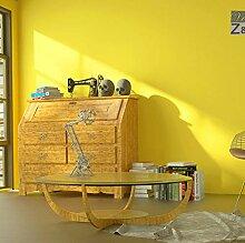 Vegan-Tapete des hellen gelben Spiegels moderner