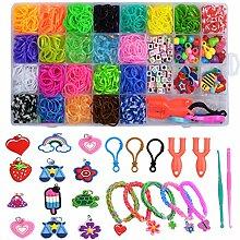 Vegcoo Elastische Armbänder aus Gummi – 1600 +