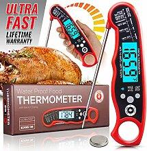 Vegena Grillthermometer Fleischthermometer, BBQ