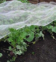 vegetablemesh Ultra Fein 2,2m breit, Bird Insektenschutz 0,9mm x 0,6mm Maschenweite