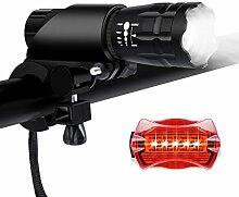 Vegkay Taschenlampe, Wasserdicht LED Taschenlampe
