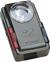 Velamp LC300 TasChenlampe mit laCkierter Metallhülle, Signalfilter unD Mörsefunktion
