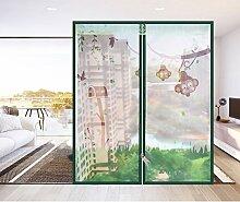 Velcro-fenster-bildschirm Anti-insektenschutz Fliegengitter,Reißverschluss Atmungsaktive Dichtung Diy verstellbare fenster-grün 150x100cm(59x39inch)