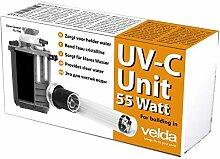 Velda 126577 Ersatz-UV-C Einheit für Elektronische Entferner gegen Grünalgen im Teich, UV-C Unit 55 Wa