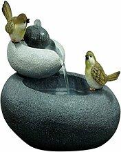 Velda Gartenbrunnen mit Deko-Vogelpaar Brunnen Springbrunnen Design S 850845