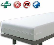 VELFONT – Anti-Wanzen-Matratzenbezug, wasserdicht und atmungsaktiv – Matratzen-Höhe 15-30cm - verfügbar in verschiedenen Größen - 160x190/200cm