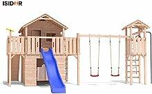 VELIKANO Baumhaus Stelzenhaus Spielhaus mit