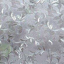 VELIMAX 3D Sichtschutzfolie Bad Milchglasfolie