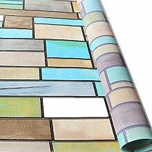 VELIMAX Privatsphäre Fensterfolie Dekorativ Glas