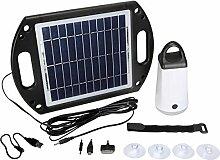 Velleman SOL22 Solar-Gartenleuchte Solarlampe mit