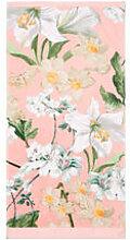 Velours-Handtuch mit Amsterdamer Blütenmotiven