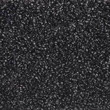 Velours-Teppichboden in Schwarz | weiche &