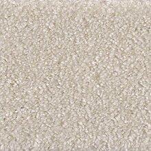 Velours-Teppichboden in Weiß   weiche &