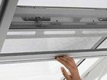 Velux Insektenschutzgitter, für Dachfenster, Höhe 160 / 200 / 240 cm, ermöglicht Belüftung 1600x496 mm - ZIL CK02