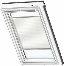 VELUX Original Plissee Dachfenster, FK06, Uni Weiß